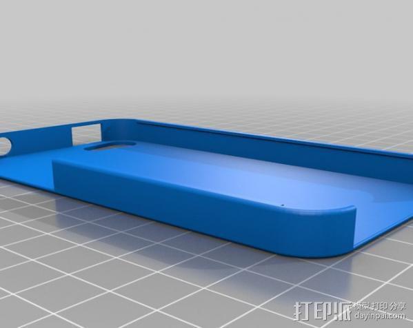 iPhone 4 手机保护外壳 3D模型  图4