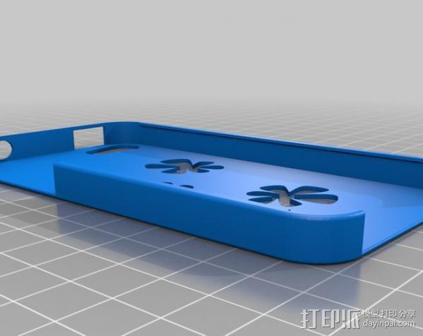 iPhone 4 手机保护外壳 3D模型  图5