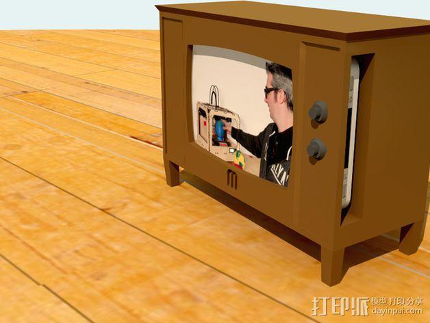 iPhone手机支架 电视 3D模型  图2