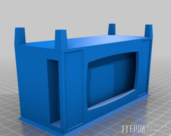 iPhone手机支架 电视 3D模型  图5