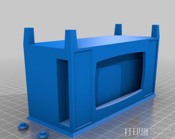 iPhone手机支架 电视 3D模型  图7