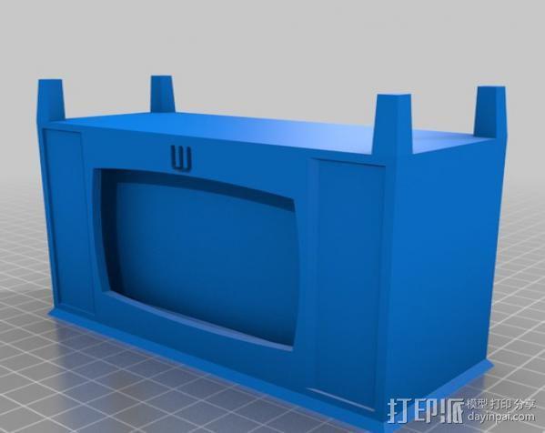 iPhone手机支架 电视 3D模型  图8