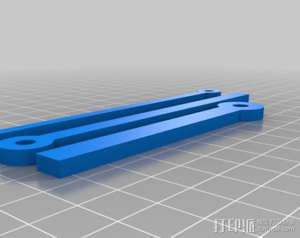 挂钟  3D模型  图1