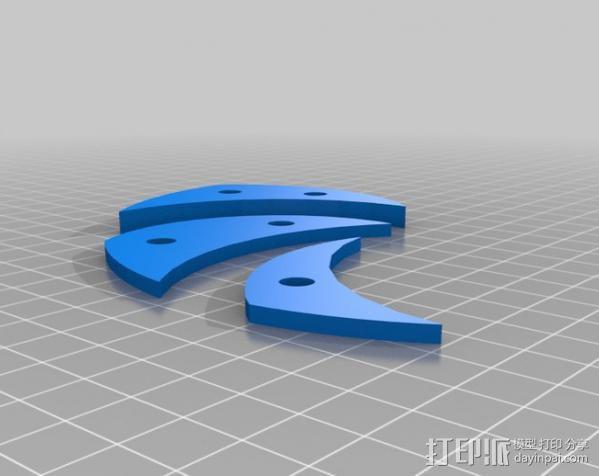 挂钟  3D模型  图3