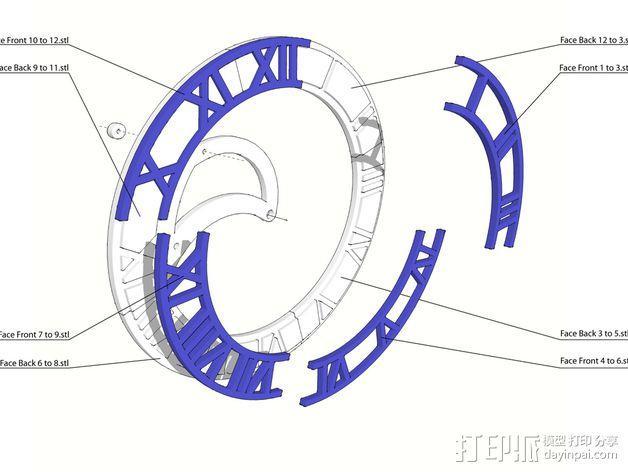 挂钟  3D模型  图16