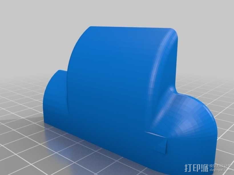iPad 2 平板电脑音量导向器 3D模型  图2