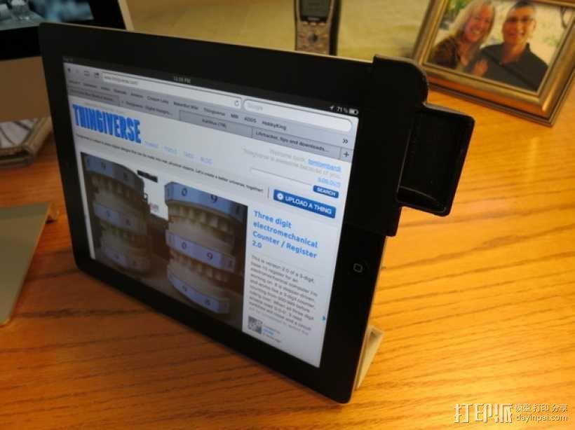 iPad 2 平板电脑音量导向器 3D模型  图3
