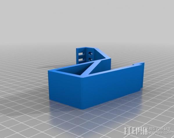 车载式Galaxy S手机支架 3D模型  图2