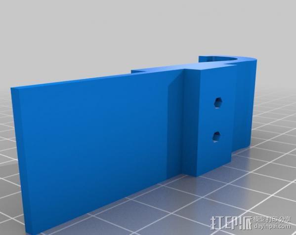 车载式Galaxy S手机支架 3D模型  图4