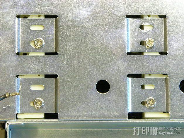 驱动器安装支架 3D模型  图5