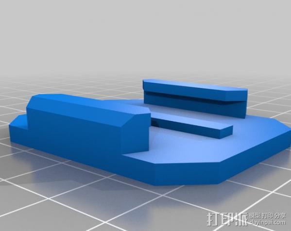 GoProHD相机支架 3D模型  图7