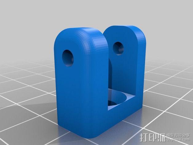 相机外壳支架 3D模型  图2