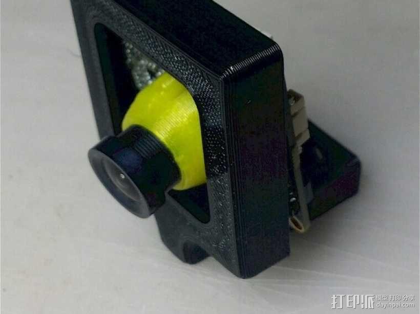 相机外壳支架 3D模型  图1