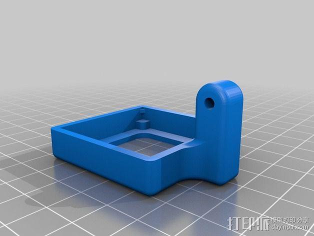 相机外壳支架 3D模型  图3