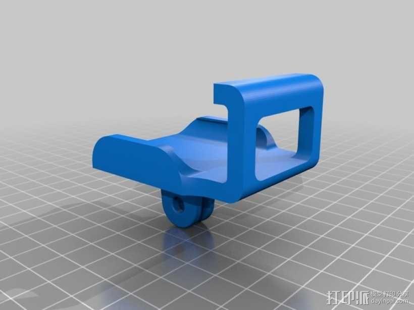 GoPro 相机托架 3D模型  图1