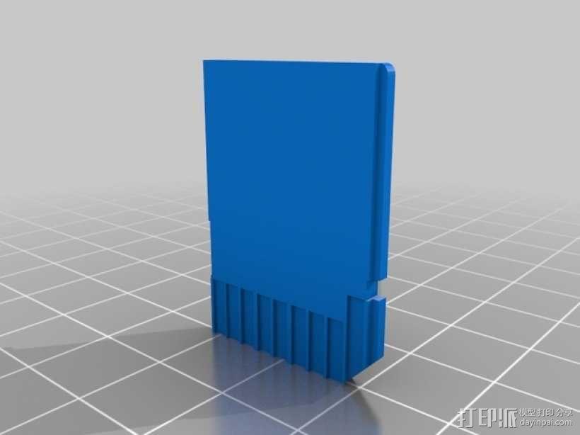 SD 卡实物模型 3D模型  图2