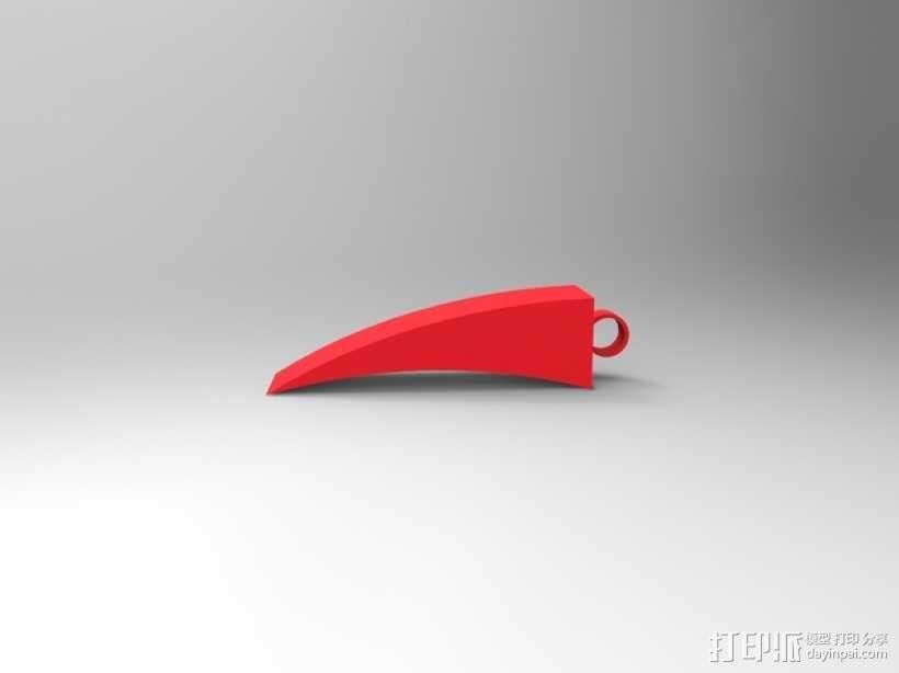 抓扒工具  3D模型  图3