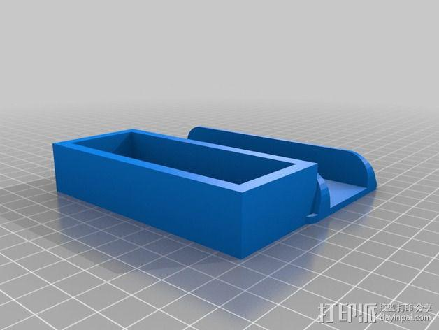 Mac Mini 电脑主机支架 3D模型  图2