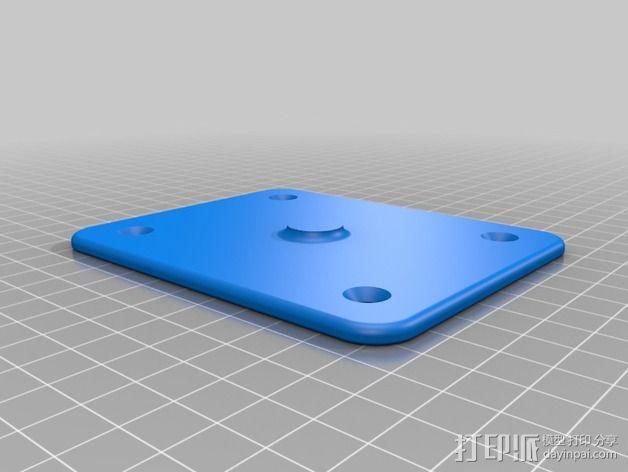 球架 3D模型  图1
