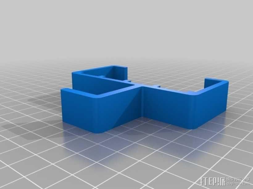 苹果笔记本电脑充电器挂钩 3D模型  图1