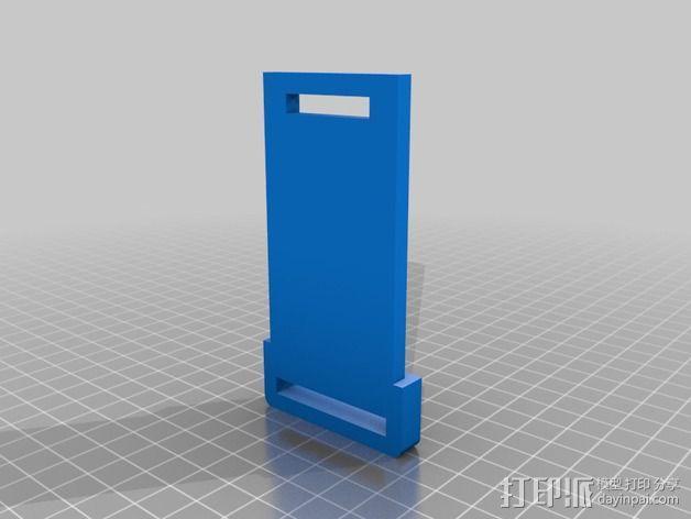 单反相机支撑器 3D模型  图2