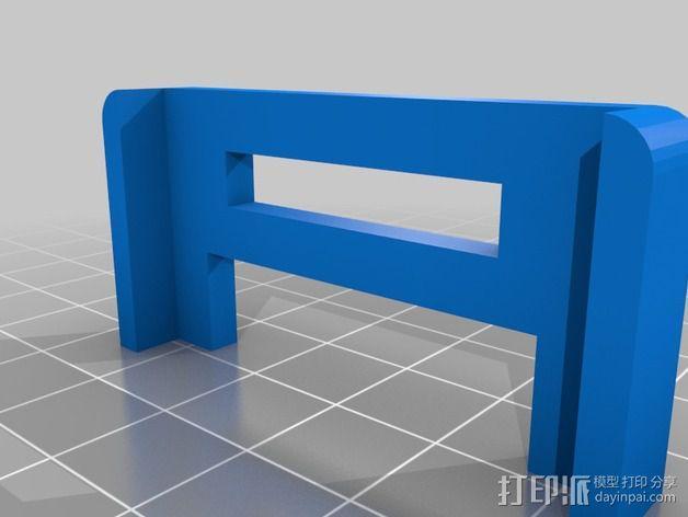 单反相机支撑器 3D模型  图3