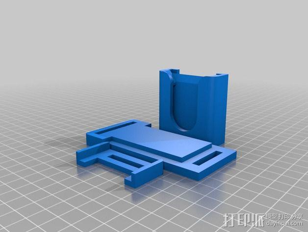 单反相机支撑器 3D模型  图4
