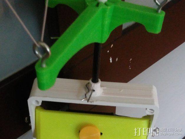 调整槽 3D模型  图1