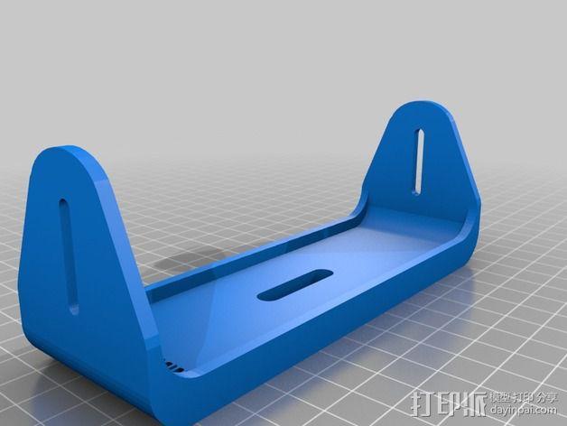 调整槽 3D模型  图3