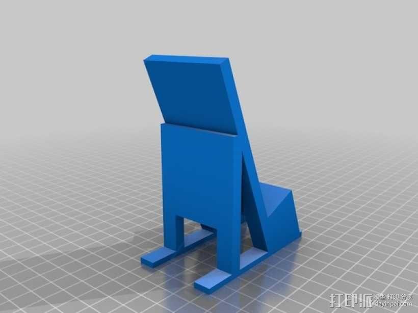 苹果手机座 3D模型  图1