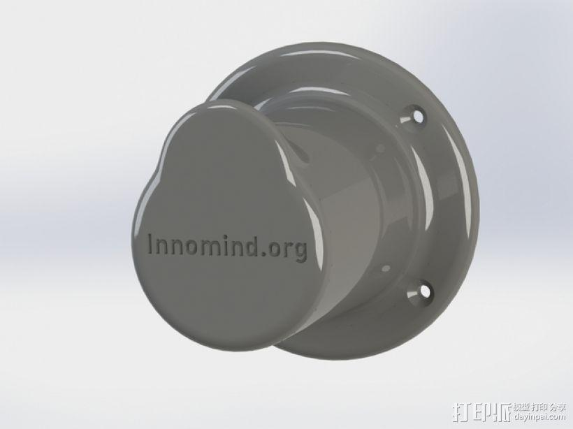 耳机座 3D模型  图1