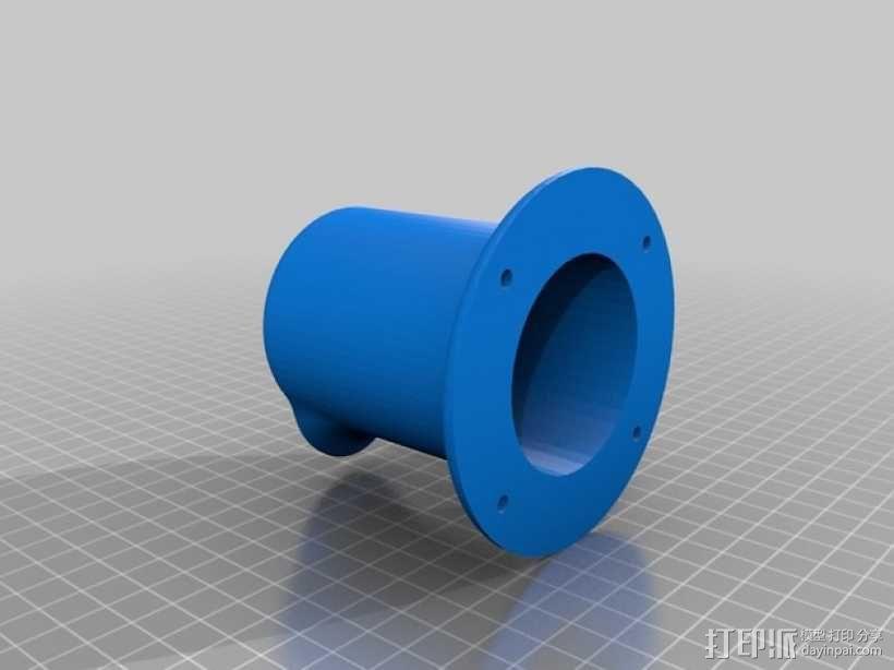 耳机座 3D模型  图2
