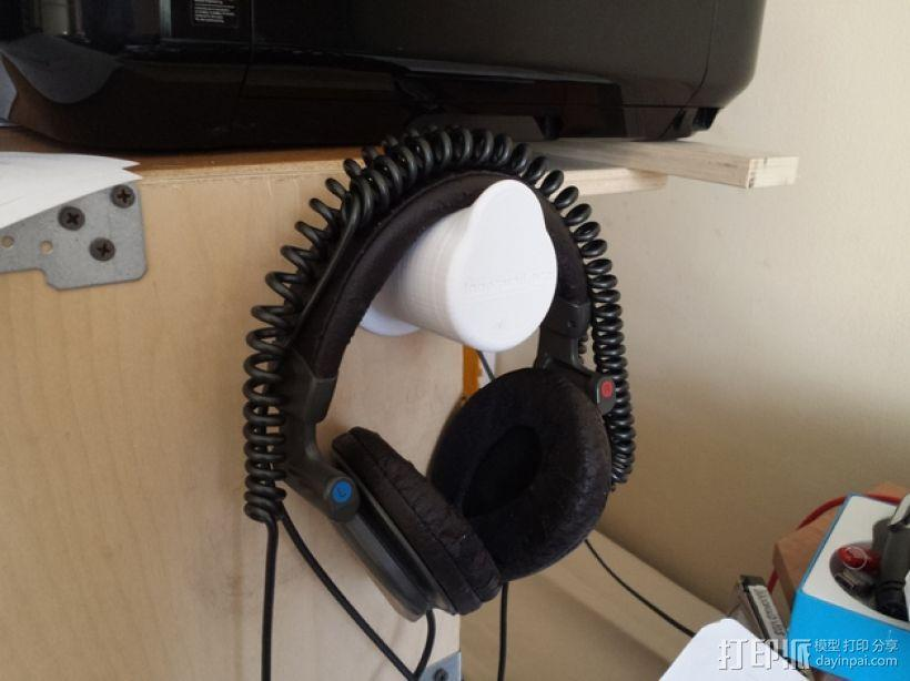 耳机座 3D模型  图3