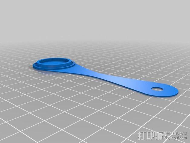 镜头盖 3D模型  图2