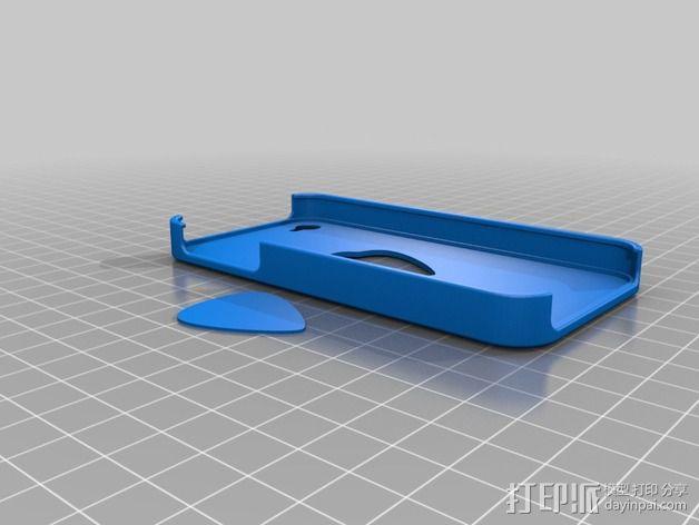 苹果4手机壳 3D模型  图6