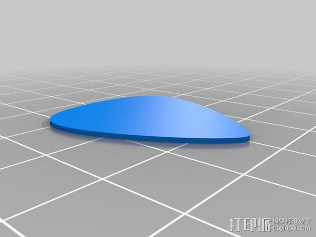 苹果4手机壳 3D模型  图8