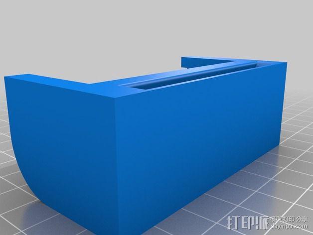 ZTE手机座 3D模型  图1