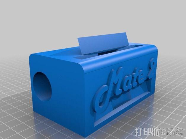 华为Mate2手机座 3D模型  图2