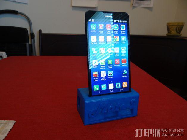 华为Mate2手机座 3D模型  图3