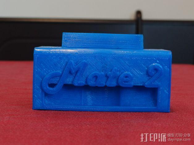 华为Mate2手机座 3D模型  图1