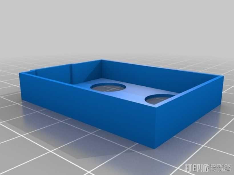 电池盖 3D模型  图2