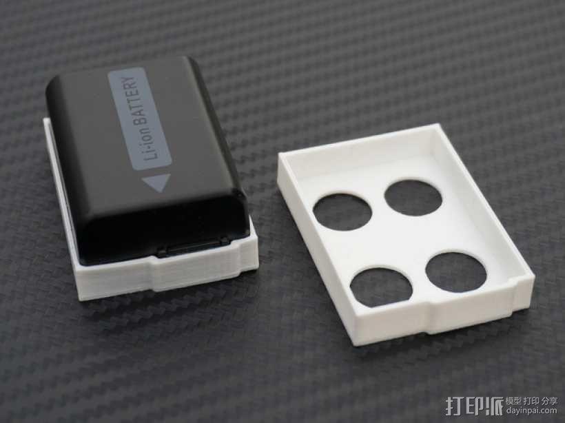 电池盖 3D模型  图1