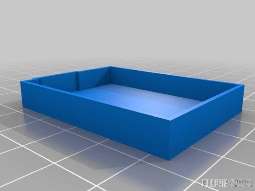 电池盖 3D模型  图3