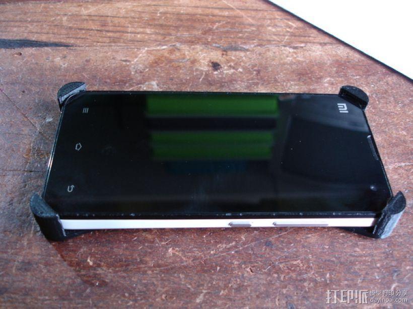 小米2手机壳 3D模型  图1