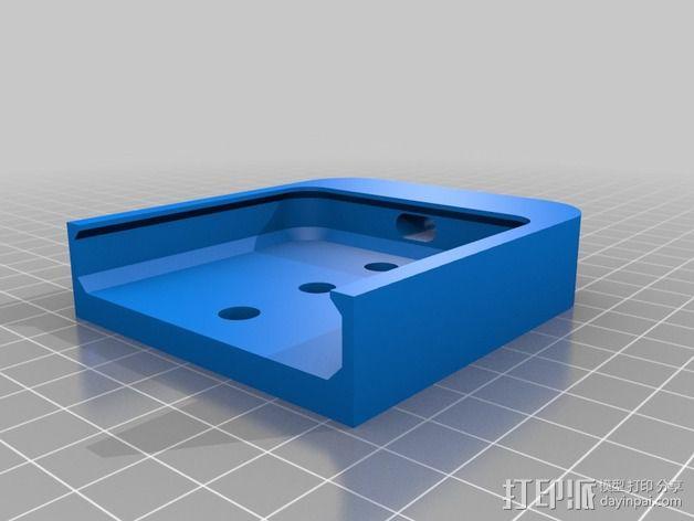 苹果5手机盖 3D模型  图2