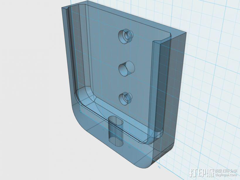 苹果5手机盖 3D模型  图1