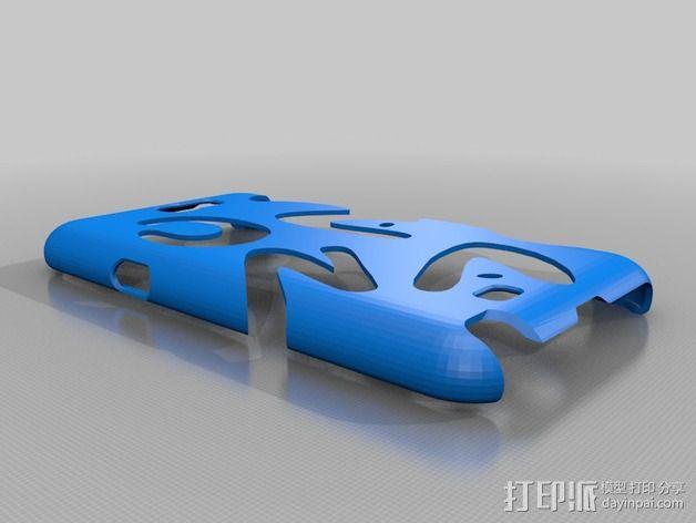Galaxy Note2 手机壳 3D模型  图2
