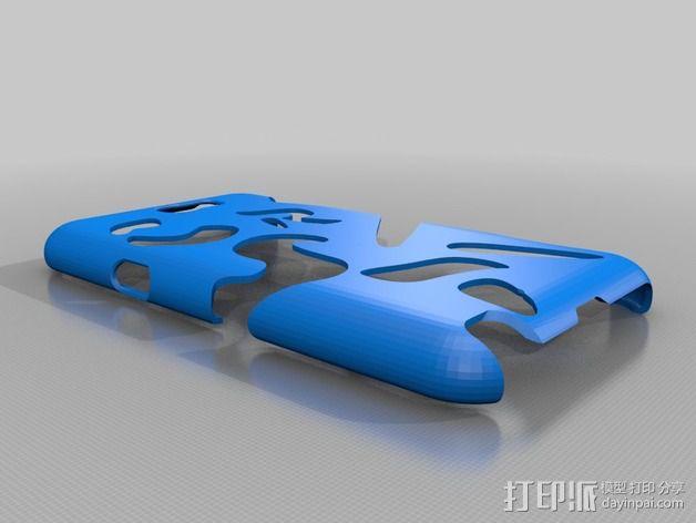 Galaxy Note2 手机壳 3D模型  图4