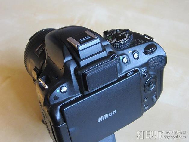 尼康相机镜头盖 3D模型  图3