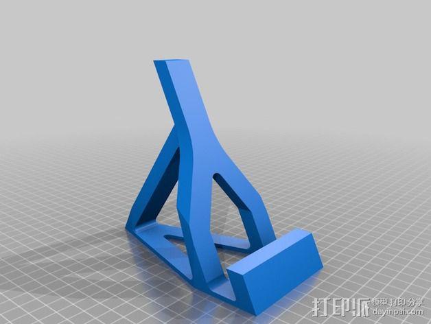 surface支架 3D模型  图2